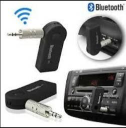 Car Bluetooth Transmissor Conexão Auxiliar
