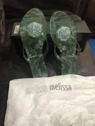 Melissa glitter verde