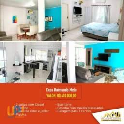 Casa com 2 dormitórios à venda por R$ 410.000 - Raimundo Melo - Rio Branco/AC