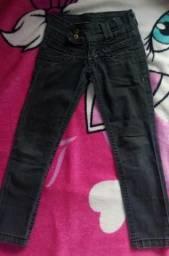 Calças jeans menina tamanho 2