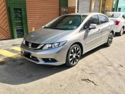 Honda civic lxr 2.0 2016 km 58 ipva pago carro top automático - 2016