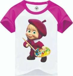 Camiseta feminina 3 por 85,00