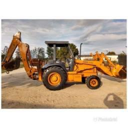 Maquina escavadoura laranja ! Somente Paraíba
