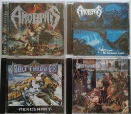 Lote de cds de Rock & Metal