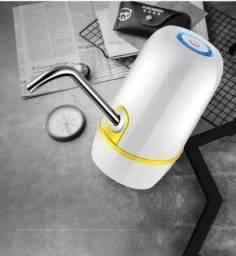 Bomba Elétrica Recarregável Garrafão Água Galão 10 20 Litros