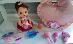Boneca Baby Alive Hora de Comer original da Hasbro.
