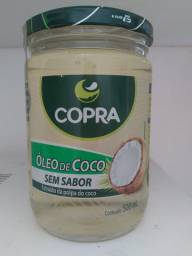 Óleo de coco sem sabor