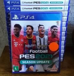 Jogo PES 2021 - Lacrado - PS4
