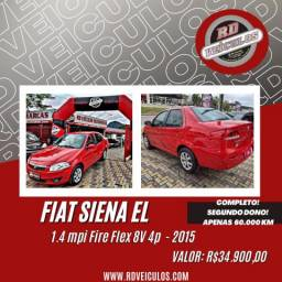 Fiat Siena EL 1.4 mpi Fire Flex 8V 4p 2015 Gasolina