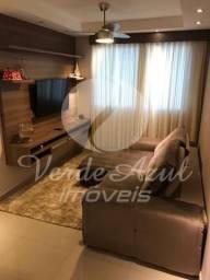 Apartamento à venda com 2 dormitórios em Parque yolanda (nova veneza), Sumaré cod:AP007423
