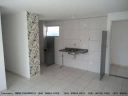 Apartamento para Venda em Parnamirim, EMAUS, 2 dormitórios, 1 suíte, 2 banheiros, 1 vaga