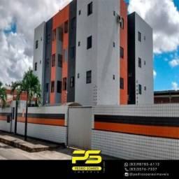 Apartamento com 3 dormitórios para alugar, 60 m² por R$ 900/mês - Ernesto Geisel - João Pe