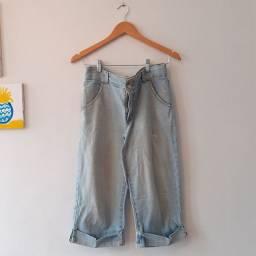 Calça Pantacourt Jeans tamanho 40