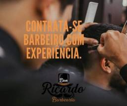 Estamos contratando barbeiros