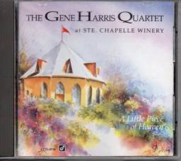 Cd- Jazz- The Gene Harris Quartet - A Little Piece Of Heaven