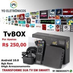 Transforme sua tv em Smarttv box