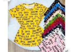 Camiseta t-shirt letras