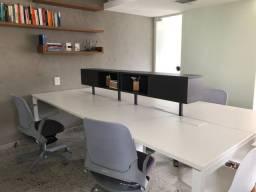 Mesa escritório de 2800 x 1400 x 740