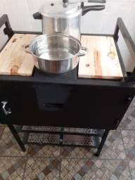 Fogão e fornos a carvão/lenha Dona Quita mod 002
