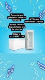 Refrigeração 24h Curitiba / A 25 Anos Atendendo  Curitiba