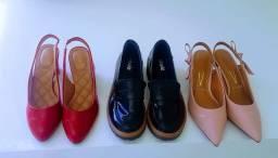 3 Pares de Sapatos Femininos