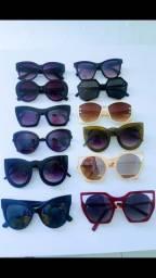 Conjunto de 12 óculos