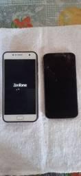 2 celulares  x 1 iPhone 5 c
