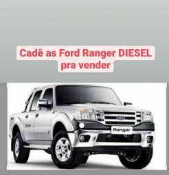 Compro Ford Ranger DIESEL modelo 2010 a 2012