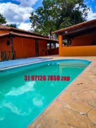 Urgente Lindo Sítio Barato Completo Porteira fechada(sauna piscina campo,pomar,gourmet)