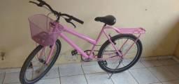 Bike Aro 26 Rosa