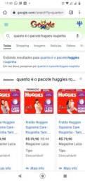 FRALDAS M ROUPINHA 36 UNID CADA PACOTE