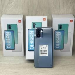Celular Xiaomi Redmi Note 10 - 4/64GB + PELÍCULA 9D - LACRADO