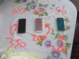 Lote celular a10, j7, s6