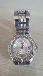 Relógio Guess feminino prata - semi novo