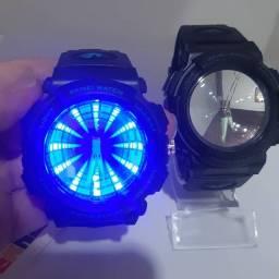 Relógio SKMEI luz LED a prova d'água