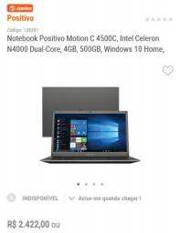 Notebook positivo motion c45000
