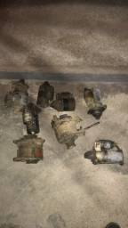Vendo motor de arranque e alternador