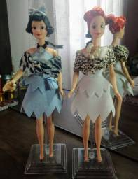 Barbies collector Flinstones Bete e vilma