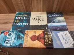 Livros por 10 cada