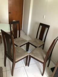 4 cadeiras mesa de jantar