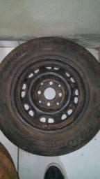 3 rodas aro 13
