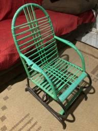 # Passo cartao! # Cadeira Balanço infantil Verde!
