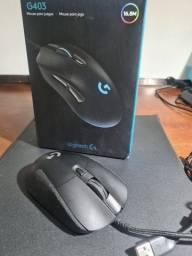 Mouse gamee g403 novo rgb