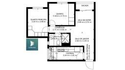 Apartamento à venda com 2 dormitórios em Jardim carvalho, Porto alegre cod:9936765