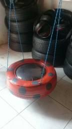 Vendo artesanato de pneu