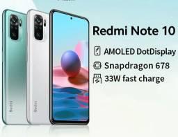 Xiaomi Redmi Note 10 Branco - Lacrado