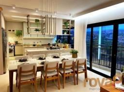Apartamento à venda com 4 dormitórios em Setor marista, Goiânia cod:NOV236049