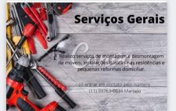 Realizo serviços Gerais