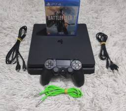 PS4 Slim completo + Battlefield 1