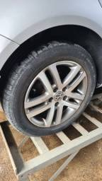 Aro 16 + pneus Jetta